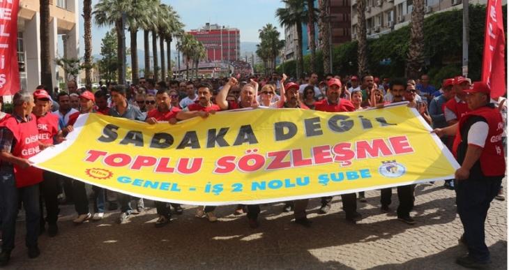 İZENERJİ'de TİS sürecini  işçiler belirledi