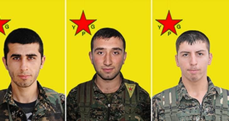 Yaşamını yitiren 5 YPG'linin kimlik bilgileri açıklandı