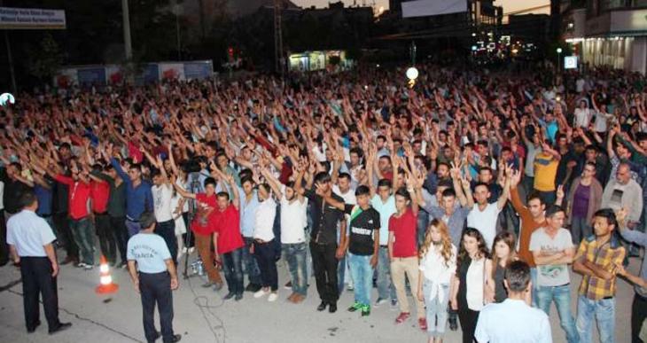 Van ve Hakkari'de Rojava Devrimi'nin 3 yılı kutlandı