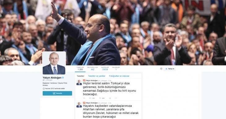 Yalçın Akdoğan, Suruç'taki katliama dair açıklama yaptı