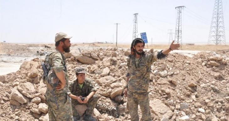 YPG: Neşwa kavşağı ve 2 stratejik tepe kontrol altına alındı