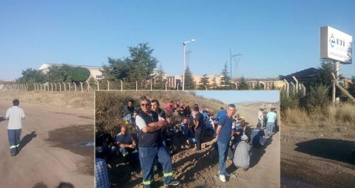 Yeşil Yol'u yapan Cengiz Holding'in işyerinde grev başladı