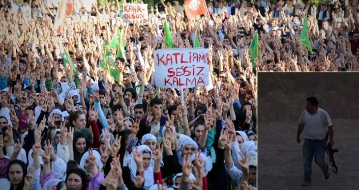SYKP'li Uğur Özkan'ın Cizre'deki cenazesi sonrası çatışma çıktı