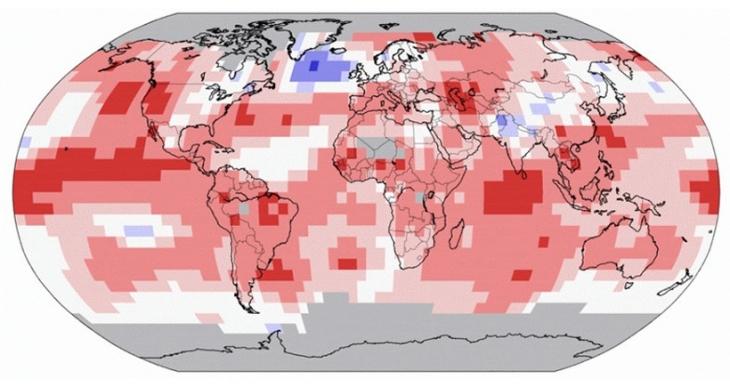İnsanlık tarihinin en sıcak haziranı