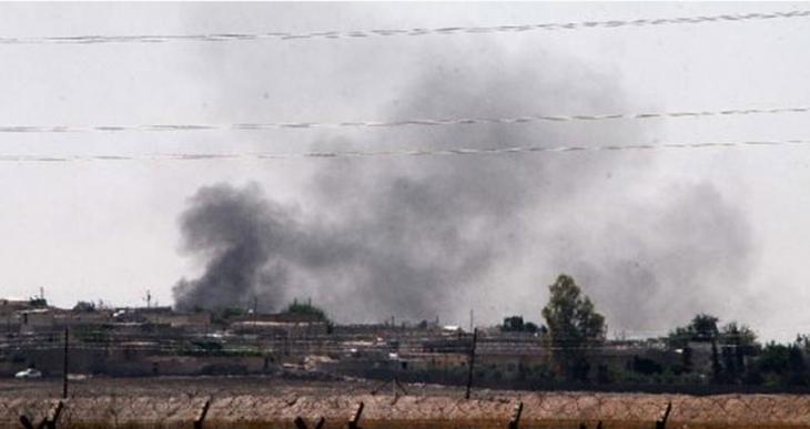 Tel Ebyad'ta 2 büyük patlama