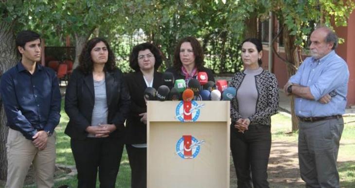 HDP, HDK, DBP ve DTK eşbaşkanları: Size savaş yaptırmayacağız