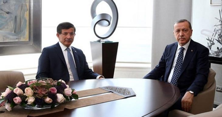 Erdoğan,Davutoğlu ve Özel görüşmesi sona erdi