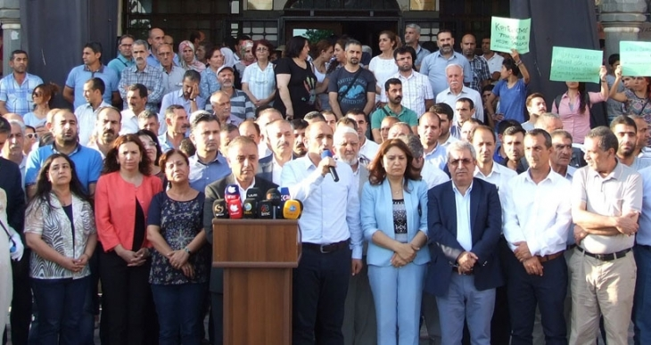 HDP, DBP: Savaş konseptine karşı mücadelemizi yükselteceğiz