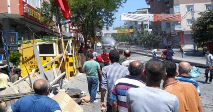Özarslan'ın cenazesine yine polis saldırdı