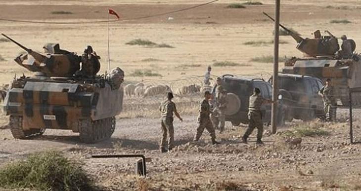 YPG: Türk ordusu IŞİD'i değil YPG ve Burkan El Fırat güçlerini bombalıyor