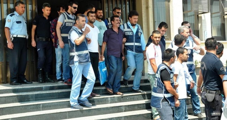 Tarsus'ta gözaltına alınan 21 kişi serbest bırakıldı