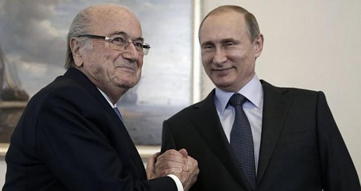 Putin'e göre Blatter Nobel'i hak ediyor!