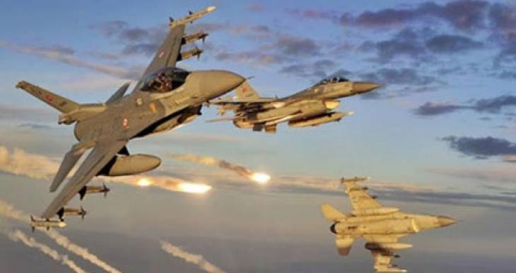 Savaş uçakları Gare, Haftanin, Kandil ve Metina'yı bombalıyor