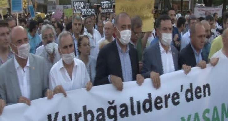 Kadıköy Kent Dayanışması'ndan Kurbağalıdere eylemi