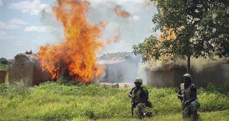 Nijerya'da çatışmalar şiddetlendi