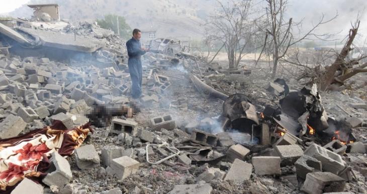 TSK, Kandil'de Zergelê köyünü vurdu: 8 sivil yaşamını yitirdi