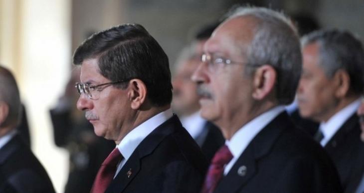 Koalisyon görüşmelerinde top Davutoğlu'da