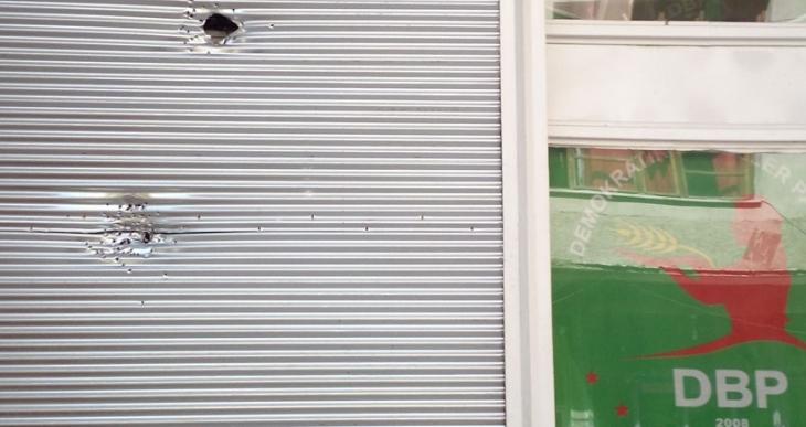 Antep'te DBP binasına silahlı saldırı