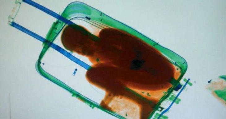 Bavulda göç ölümle sonuçlandı