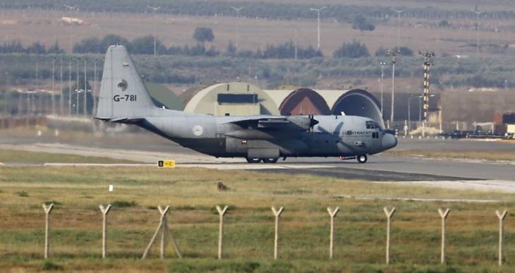 İncirlik'ten Suriye'ye  ilk uçak havalandı