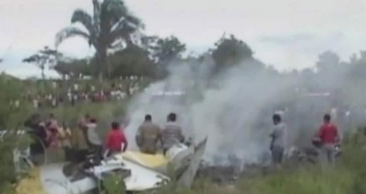 Uyuşturucu kartelinin peşindeki polis helikopteri düştü: 15 polis öldü