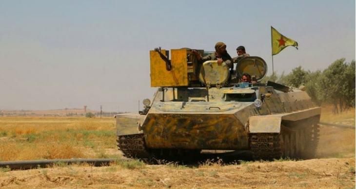 YPG, Temmuz ayı bilançosunu açıkladı