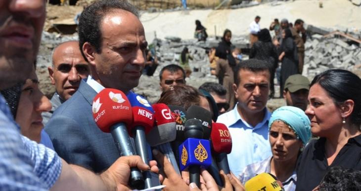 HDP heyeti Zergelê'de: Burada sivil katliamı yapıldı