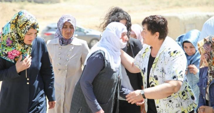 HDP'lilerden asker ailesine taziye ziyareti