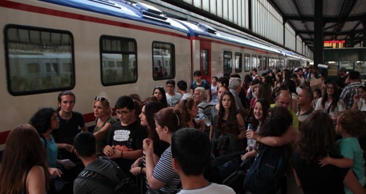 Gençlik Yaz Kampı'na gidecek gençler Ankara'dan yola çıktı!