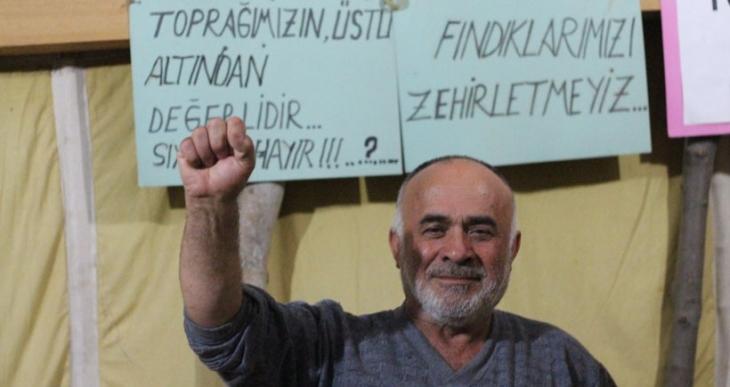 Fatsa direniş çadırında 280. buluşma: Siyanürlü altına karşı yürüyüş
