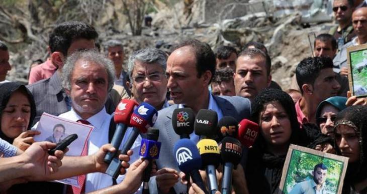 HDP heyeti: Zergelê, hiçbir şüpheye yer bırakmayacak bir sivil katliam
