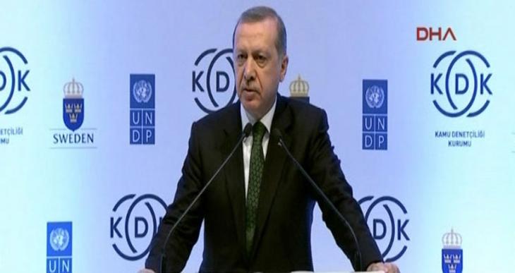 Erdoğan'a göre Cizre'de öldürülen 21 kişi sivil değil 'terörist'!