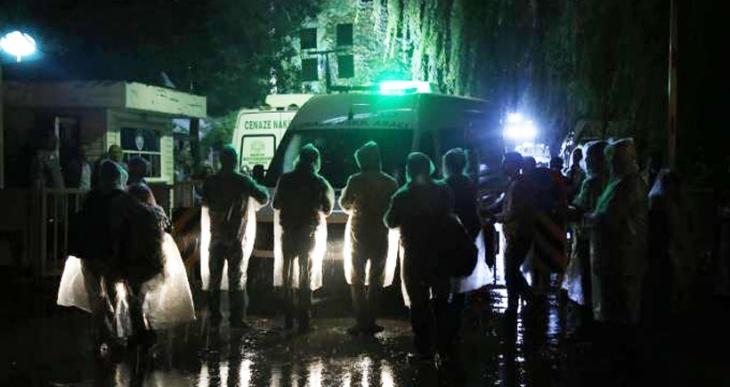 Teşhis edilen 102 kişinin cenazesi ailelerine teslim edildi