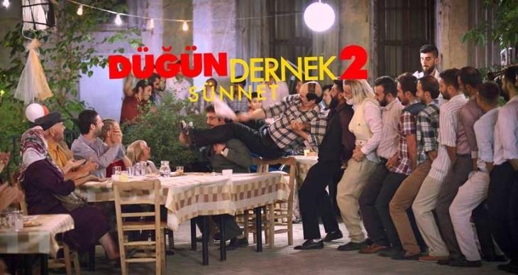Düğün Dernek 2: Sünnet, 2015'in en çok izlenen filmi oldu