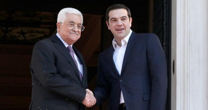 Yunanistan alkışlar  eşliğinde Filistin'i tanıdı