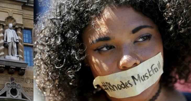 Üniversitede 'ırkçı ve  sömürgeci' heykel isyanı