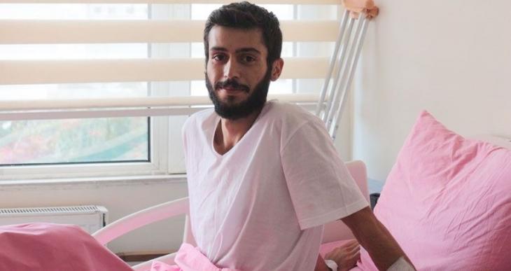 Katliam yaralısı Karakoç'a  üniversitesinden ceza