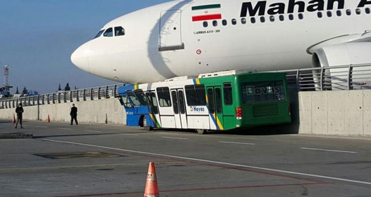 Atatürk Havalimanı'na inen İran uçağı duramadı korkuluklara çıktı!