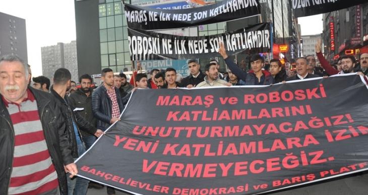 'Maraş'ın failleri yargılanmadan Roboski aydınlanmaz'