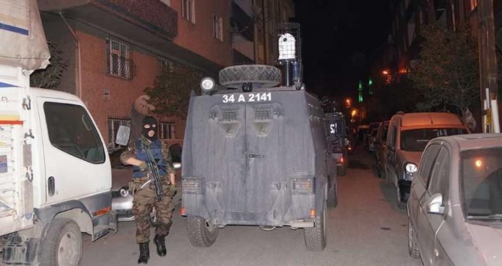 İstanbul'da gözaltı operasyonu