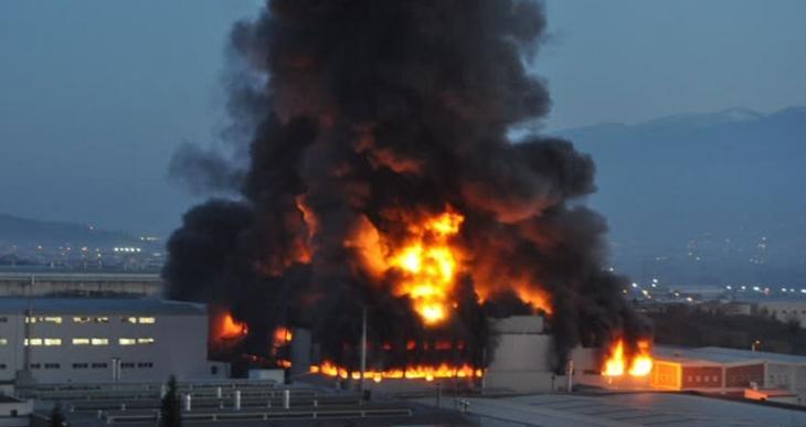 DOĞADER: Tekstil fabrikasındaki yangın Bursa'yı bekleyen tehlikenin küçük bir göstergesi