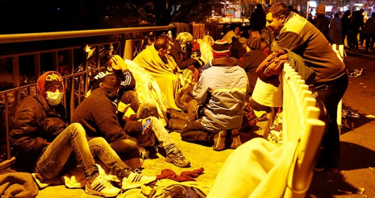 Mülteci yurtlarına saldırılar  dörde katlandı