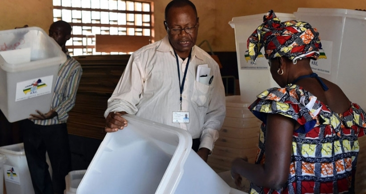 Orta Afrika Cumhuriyeti'nde seçim günü