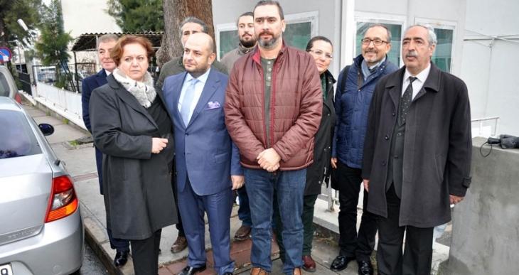 Cinayet büroda ifade veren gazeteci Dirik: 'Gazeteciliğe karşı cinayete teşebbüs var'