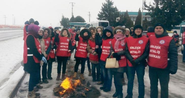 EGO işçisinin direnişi sürüyor: İşçiyi jandarmayla tehdit ettiler