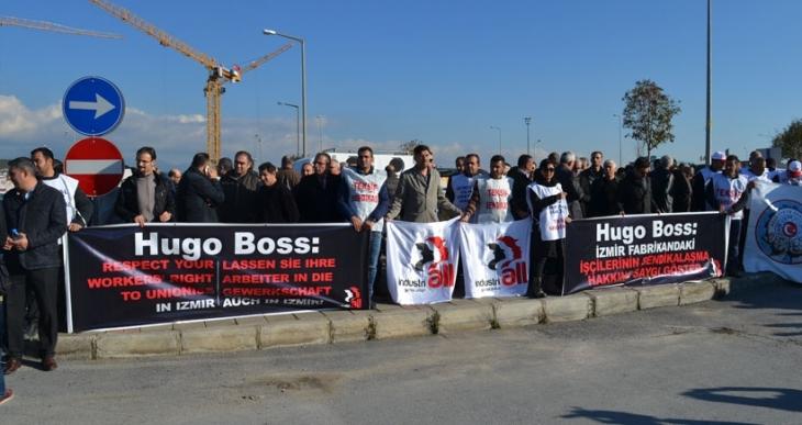 Hugo Boss'ta direniş devam ediyor
