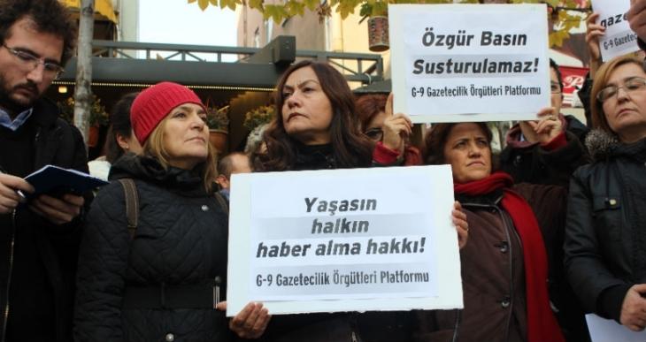 CHP: Gazeteciler baskı altına alınmaya çalışılıyor