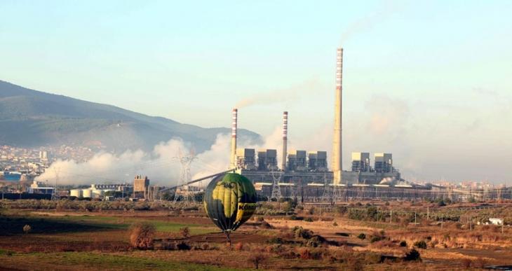 Greenpeace'den Soma'da kömüre karşı balonlu eylem