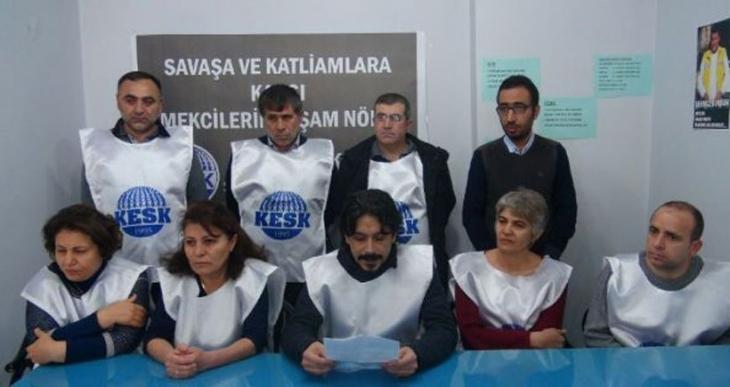 Malatya'da barış nöbeti