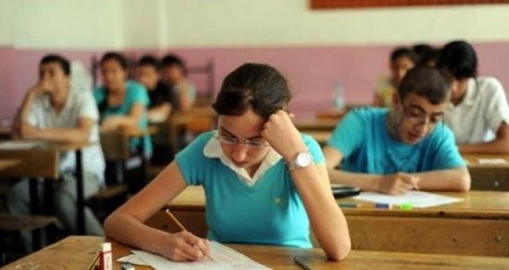 Cizre'deki öğrencilerle YGS dayanışması